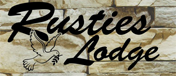 Rusties Lodge Retina Logo